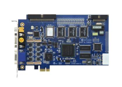 GeoVision GV-1240/8 - PCI-Ex, 8x wideo/audio, H.264, 200 kl./s D1, 24x GV-IP*