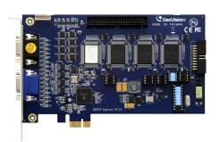 GeoVision GV-800/16 - PCI-Ex, 16x wideo, 4x audio, H.264, 50 kl./s D1, 16x GV-IP*